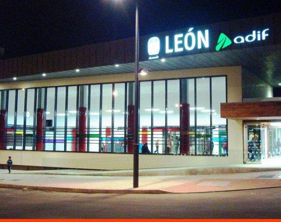 Estación del AVE de León - EntreVias Lodging