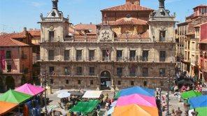 Mercado de los sábados en Plaza Mayor