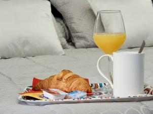 Desayuno de EntreVias Lodging