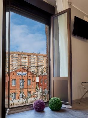 Vistas desde el Balcón de la habitación de EntreVias Lodging